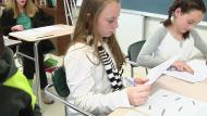 Teacher engages students in discussion - Example 1