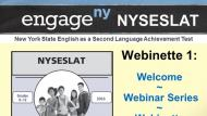 "NYSESLAT Webinette 1: Welcome to the NYSESLAT ""Webinette"" Series"