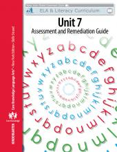 Kindergarten: Skills Unit 7 Cover Page