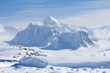 Mountain Peak in Antarctica