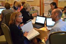 NTI participants working