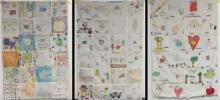 Quilts made by students from General Brown CSD