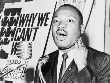 Martin Luther King, Jr. by New York World-Telegram and the Sun staff photographer: Albertin, Walter, photographer - Library of Congress